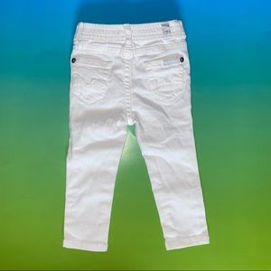 7 For All Mankind Baby (18M) White Jeans